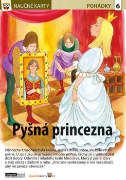 Pyšná princezna - Naučná karta - neuveden