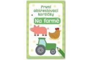 První obkreslovací kartičky - Na farmě