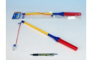 Hůlka k lampionu 39cm na baterie